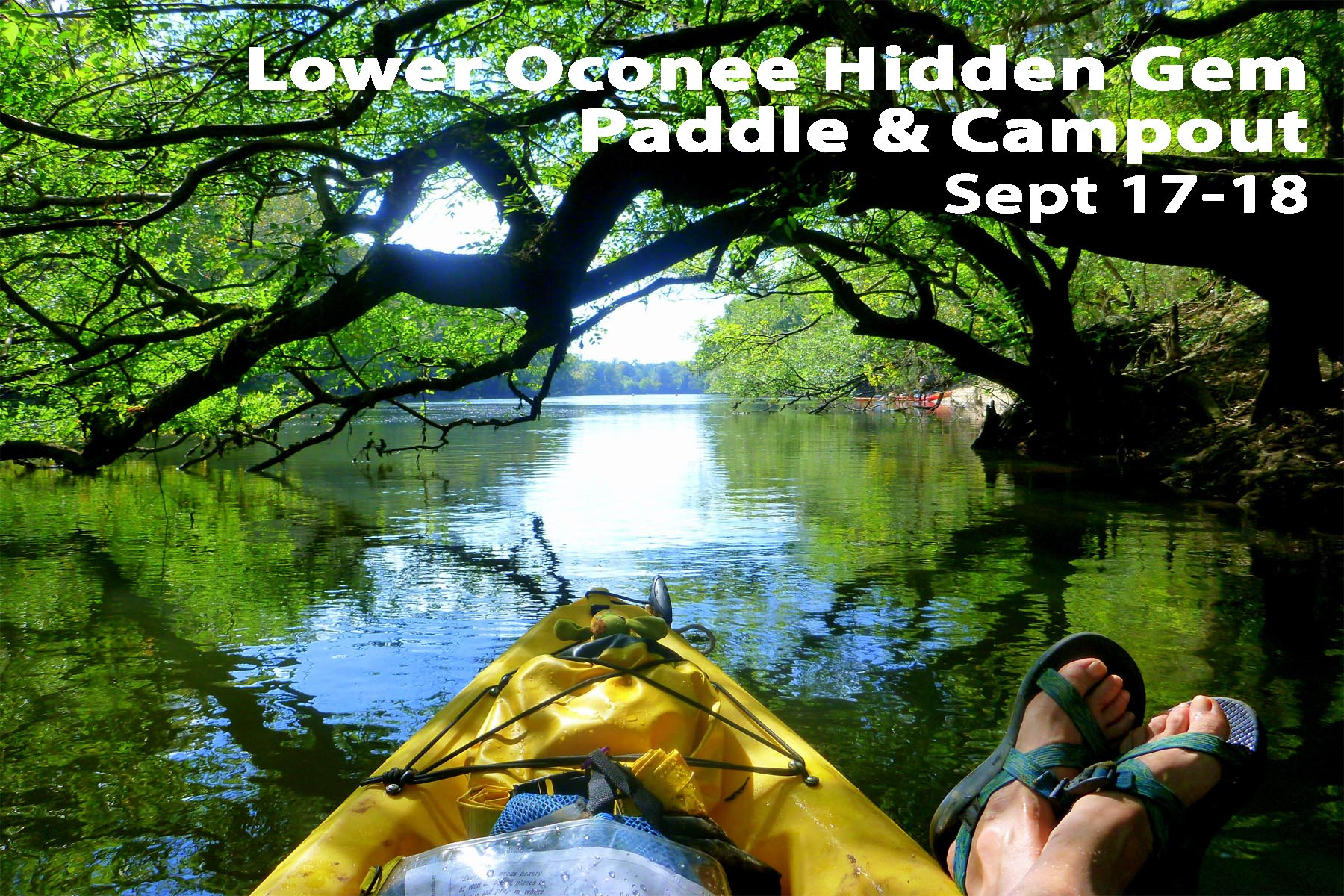 Lower Oconee River Hidden Gem Paddle Campout