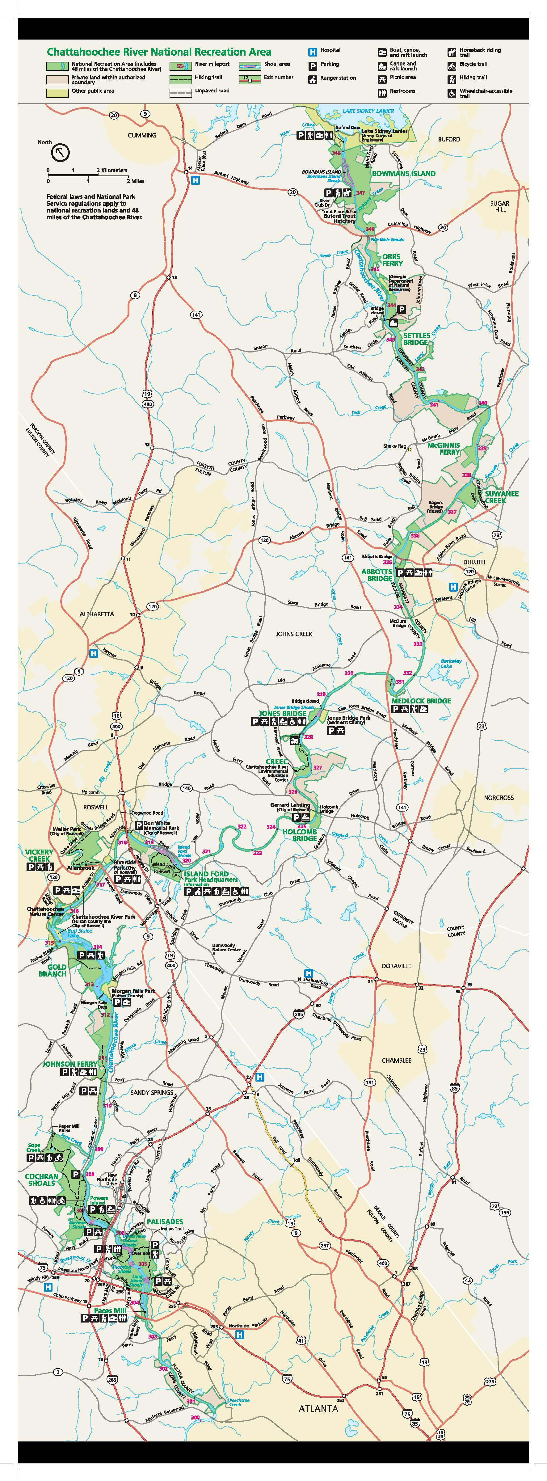 CRNRA Map