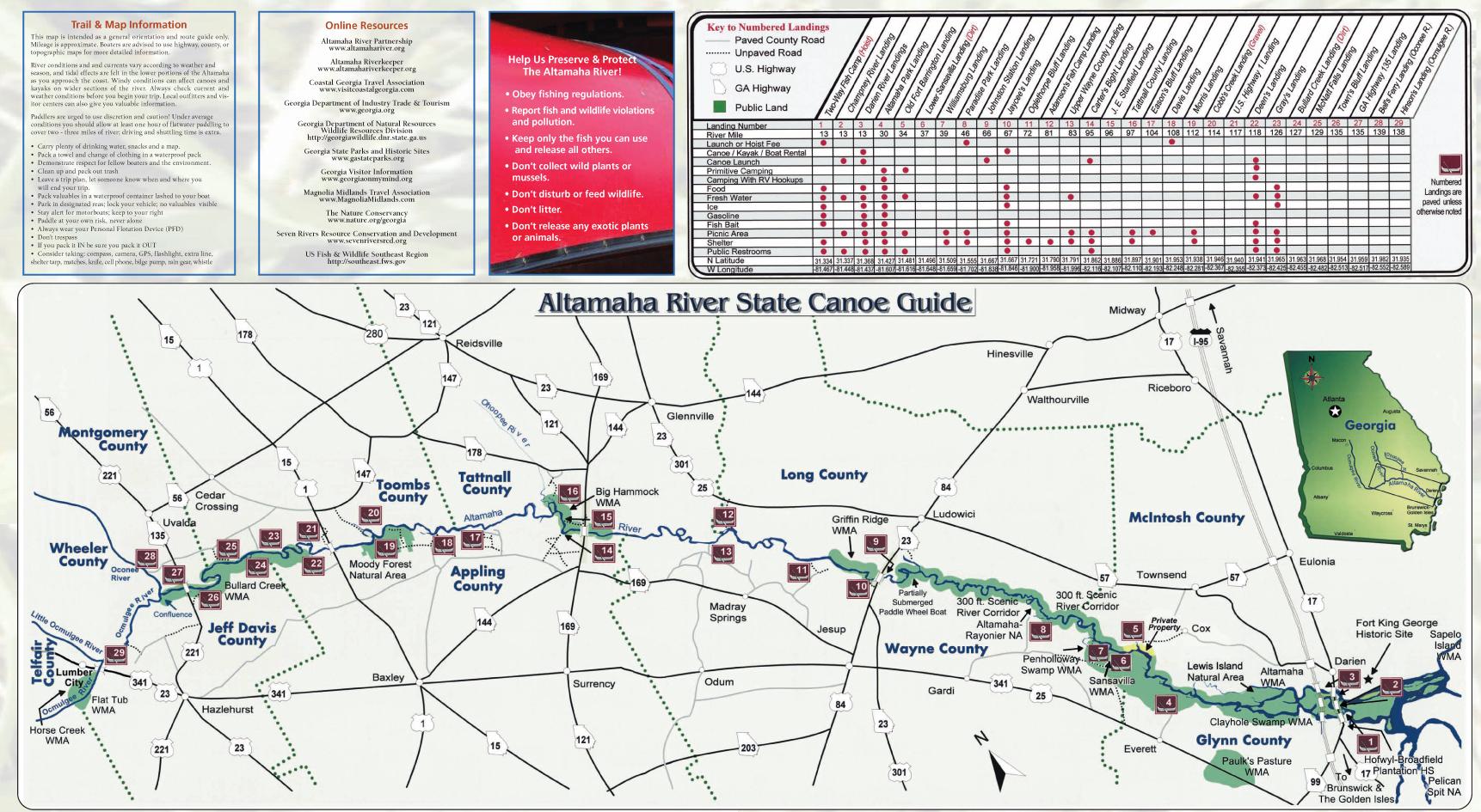 Altamaha River Canoe Trail