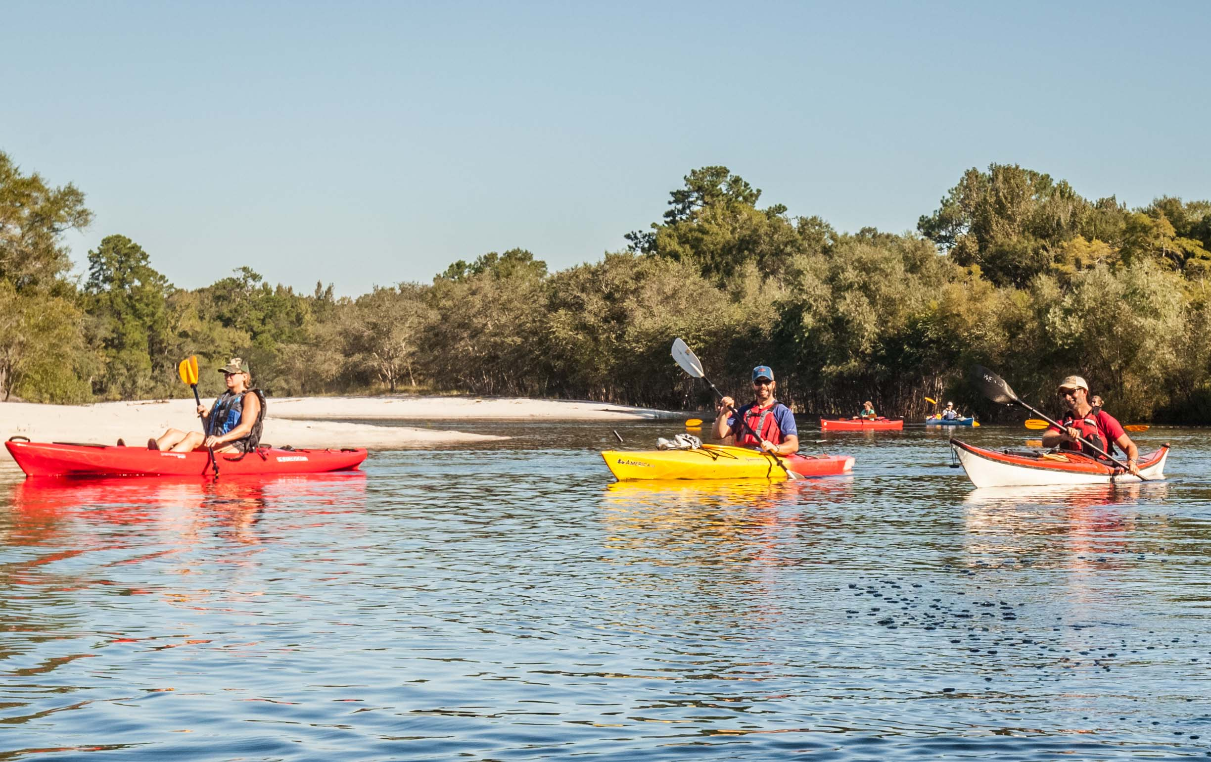Satilla River Water Trail Paddlers Beach Cottage PhotographyWEB