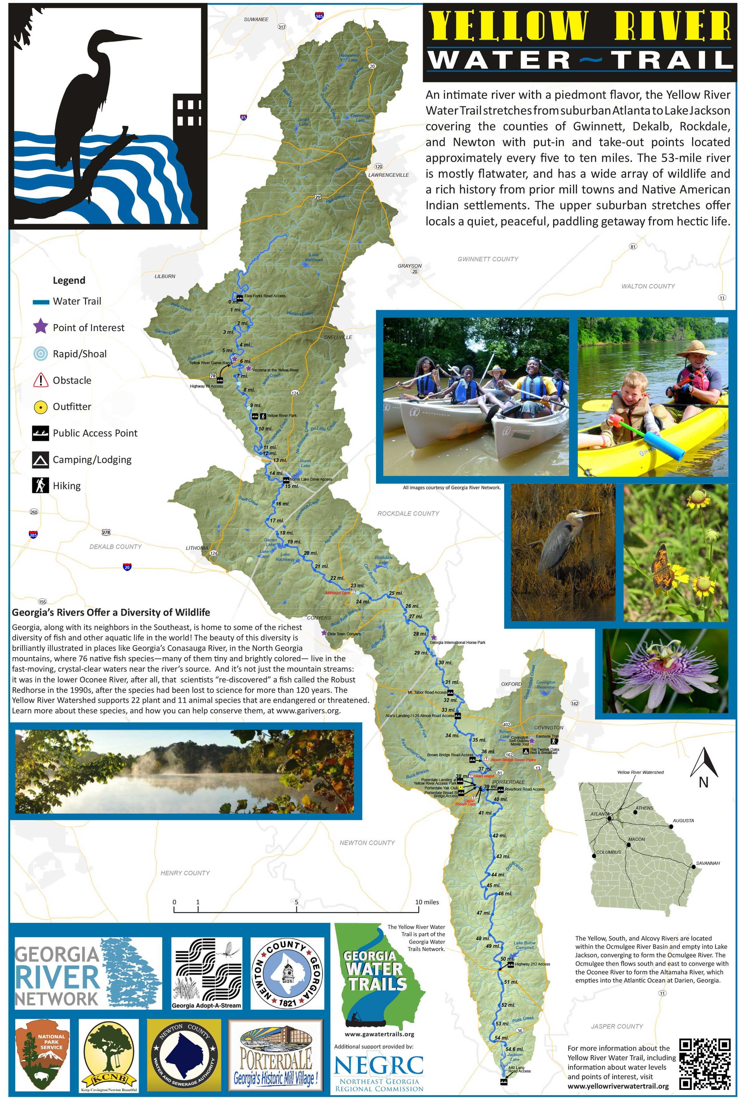 Map Of Georgia Rivers And Lakes.Georgia Rivers