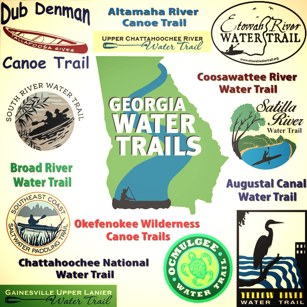 Water Trail Network 15 established Trail graphic