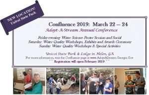 Georgia Adopt-A-Stream Conference @ Unicoi State Park
