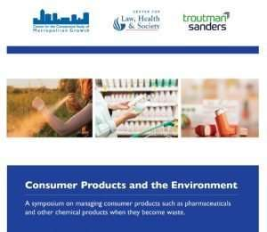 Consumer Products and the Environment @ Georgia State University College of Law