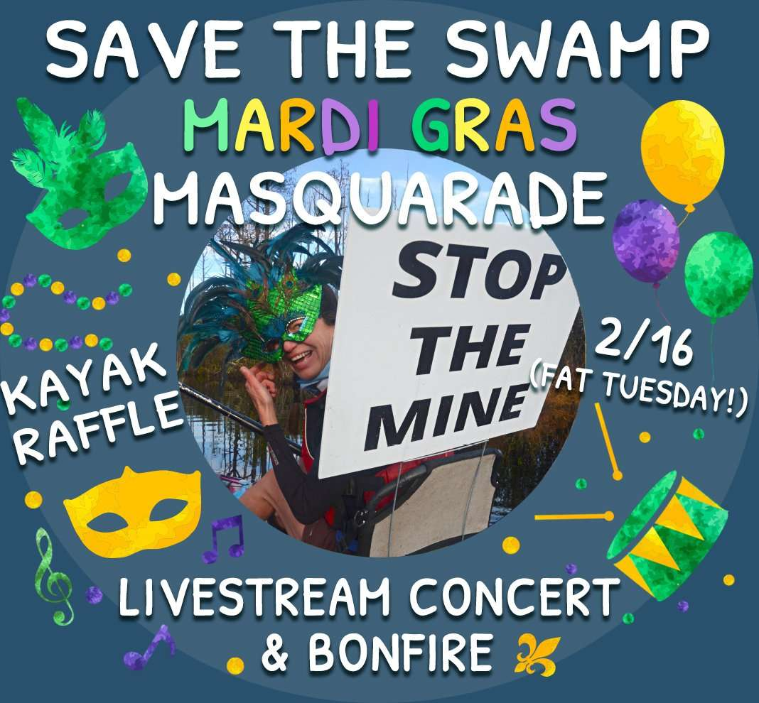 Save the Swamp Concert