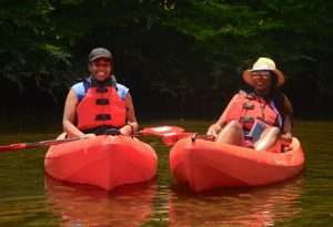 Etowah River with Outdoor Afro