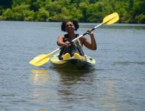 Flint River with Outdoor Afro